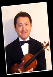 Takeshi Horochi, violin and viola
