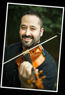 Christopher Souza, violin and viola, solo violin